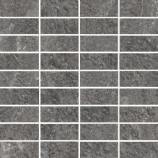 Villeroy & Boch My Earth anthrazit multicolor VB-2649 RU90  Mosaik 3,3x7,5 30x30 matt R11 B