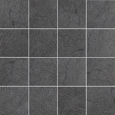 Villeroy & Boch Scivaro anthrazit VB-2157 SC9R  Mosaik 7,5x7,5 30x30 reliefiert-matt R9