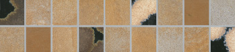 Villeroy & Boch Terra Noble multicolor gold VB-2568 TN21  Bordüre 10x45 matt