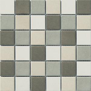 Engers Arizona LEDERBRAUN/ZEMENTGRA EN-ARI570 Mosaik 5x5 30X30 matt R10/B