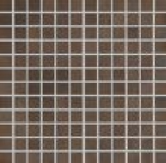 Agrob Buchtal Bosco dunkelbraun AB-4010-7160H Mosaik 2,5x2,5 30x30