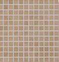 Agrob Buchtal Bosco hellbraun AB-4030-7160H Mosaik 2,5x2,5 30x30