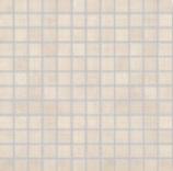 Agrob Buchtal Bosco cremeweiß AB-5040-7160H Mosaik 2,5x2,5 30x30  R10