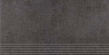 Agrob Buchtal Pasado anthrazit AB-433877 Stufe 30x60 eben, vergütet