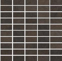 Gazzini Level dark GA-501034 Mosaik 30x30 Natur R9