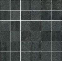 Gazzini Ink 40 antracite GA-40704 Mosaik 30x30 Natur R9
