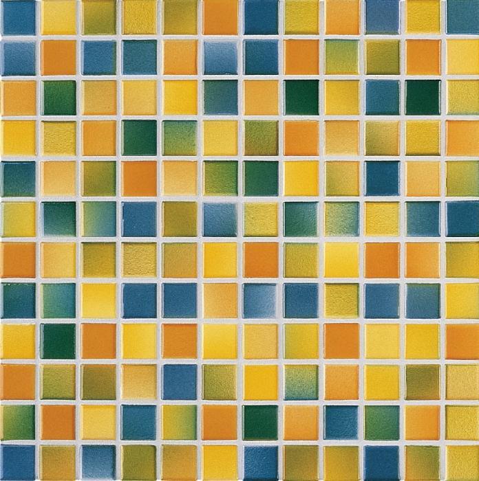 Jasba M2 herbstbunt JA-2441H Mosaik 2,4x2,4 30x30 glänzend