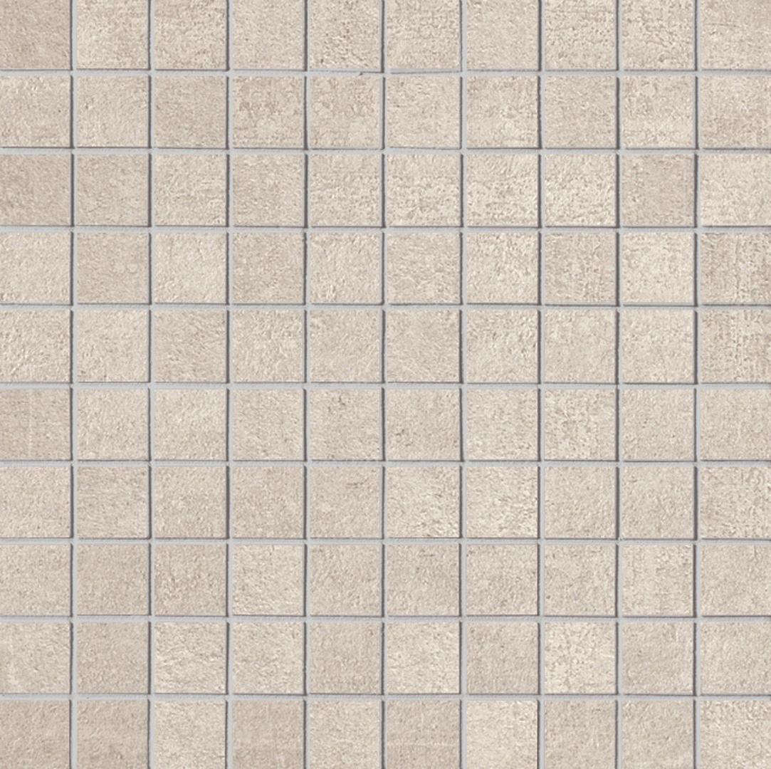 Keope LINK GHOST WHITE KE-t2m1 Mosaik 2,8x2,8cm 30X30 naturale R9