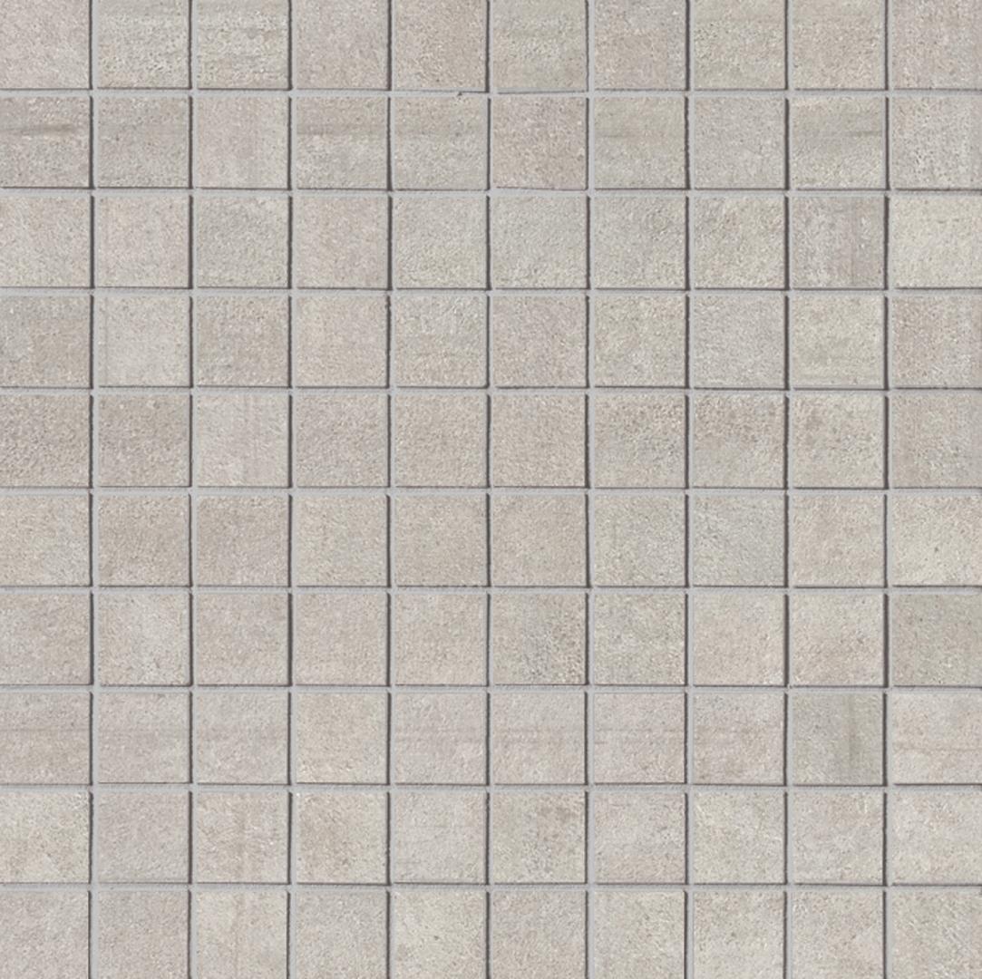 Keope LINK PALE SILVER KE-t2m2 Mosaik 2,8x2,8cm 30X30 naturale R9