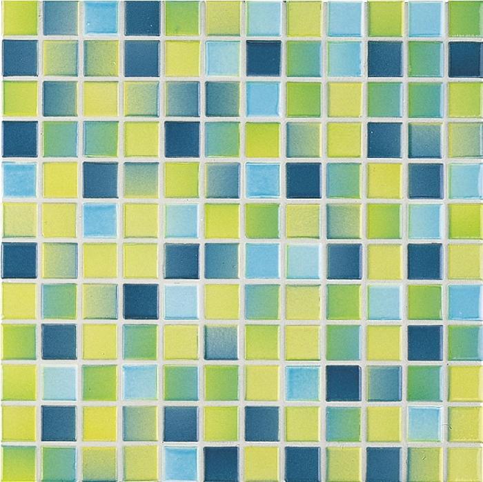 Jasba M2 karibik JA-2447H Mosaik 2,4x2,4 30x30 glänzend