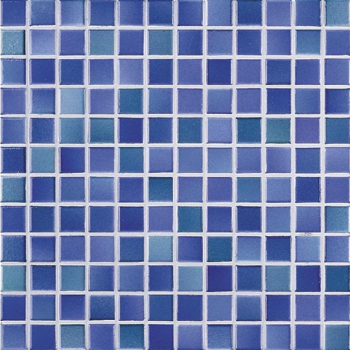 Jasba M2 sky blue JA-2450H Mosaik 2,4x2,4 30x30 glänzend