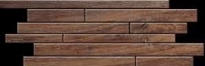 SKP Casa Legno castanio SKP-25107 Mosaik Brick 20x50 naturale R10/A Holzoptik