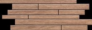 SKP Casa Legno teakato SKP-25110 Mosaik Brick 20x50 naturale R10/A Holzoptik