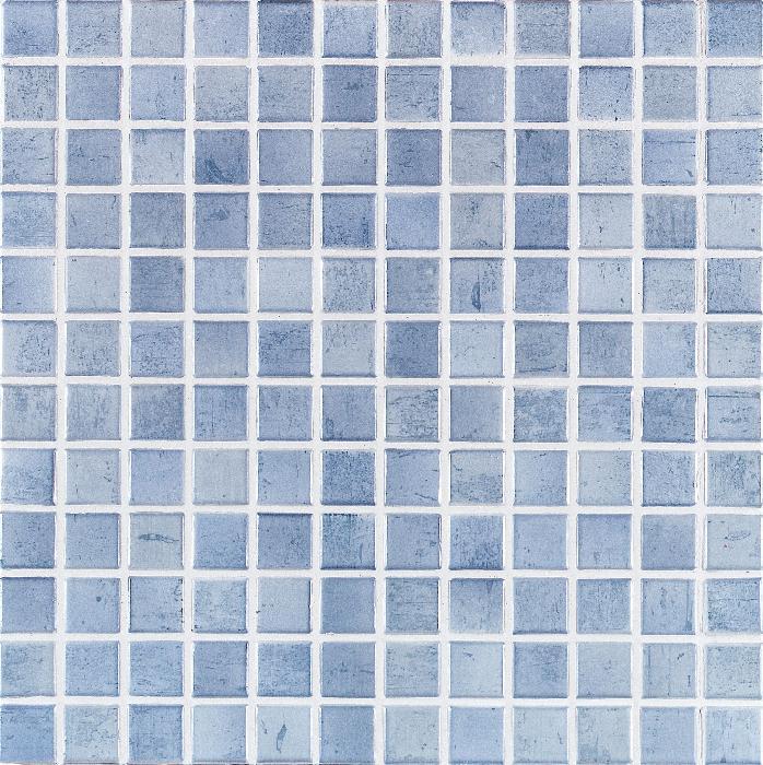 Jasba Paso taubenblau JA-3103H Mosaik 2,4x2,4 30x30 matt