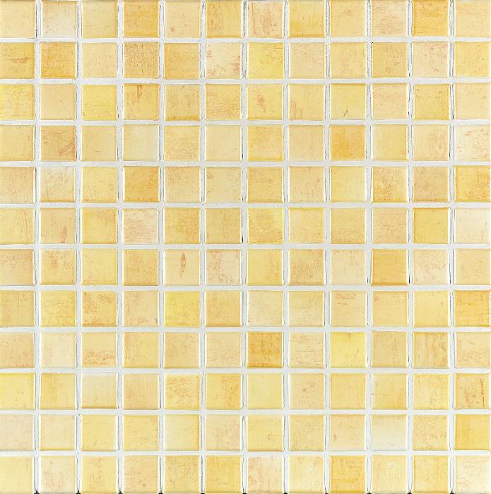 Jasba Paso weizengelb JA-3105H Mosaik 2,4x2,4 30x30 matt