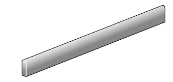 Ariostea Pietre High-Tech  Basalto Grigio ARI-B9330T Stehsockel 9x60 satiniert R10