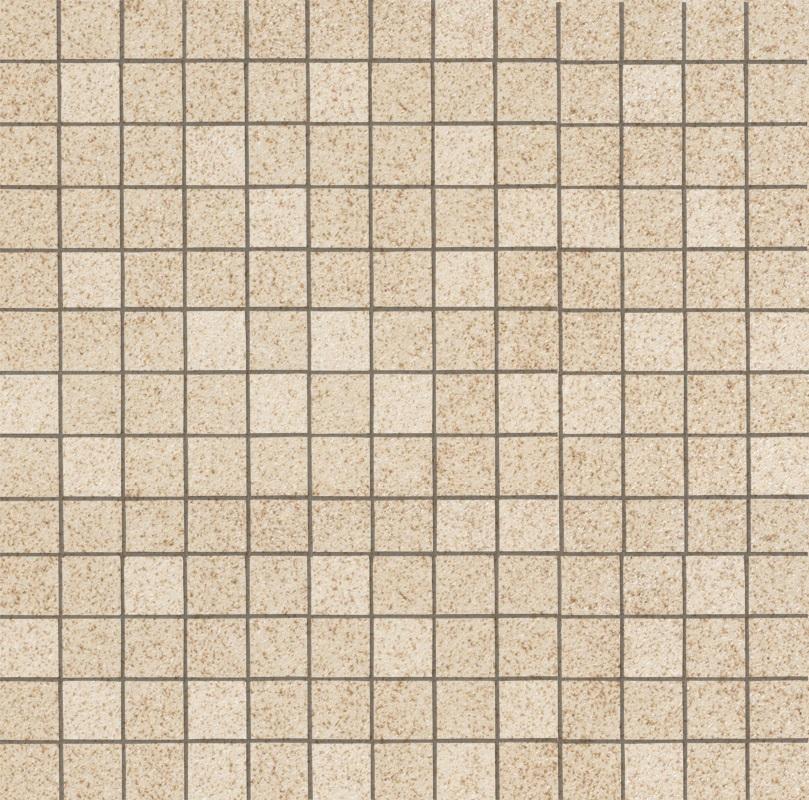 Ariostea Pietre High-Tech  Crema Europa ARI-MCST296 Mosaik 30x30 strukturiert R11