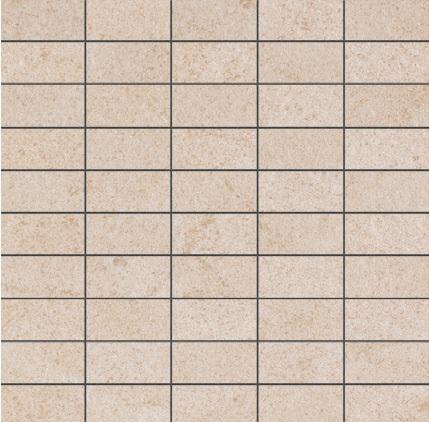 Ariostea Pietre High-Tech  Crema Europa ARI-MBST296 Mosaik 30x30 strukturiert R11
