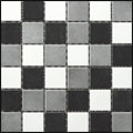Engers Arizona WEISS/GRAU/SCHWARZ EN-ARI310 Mosaik 5x5 30X30 matt R10/B