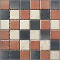 Engers Arizona CREME/ROTBRAUN EN-ARI450 Mosaik 5x5 30X30 matt R10/B