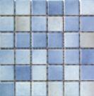 Engers Georgia BLAU/GRAU EN-GEO430 Mosaik 5x5 30X30 matt R10/B