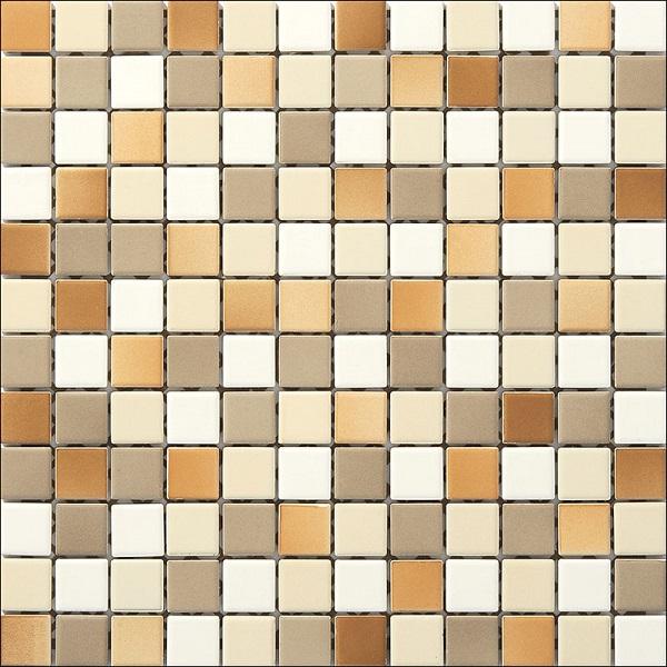 Engers Ohio beige-weiß-cotto EN-OHI320 Mosaik 2,5x2,5 30X30 matt