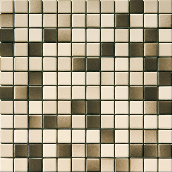 Engers Ohio creme-kitt-braun EN-OHI440 Mosaik 2,5x2,5 30X30 matt