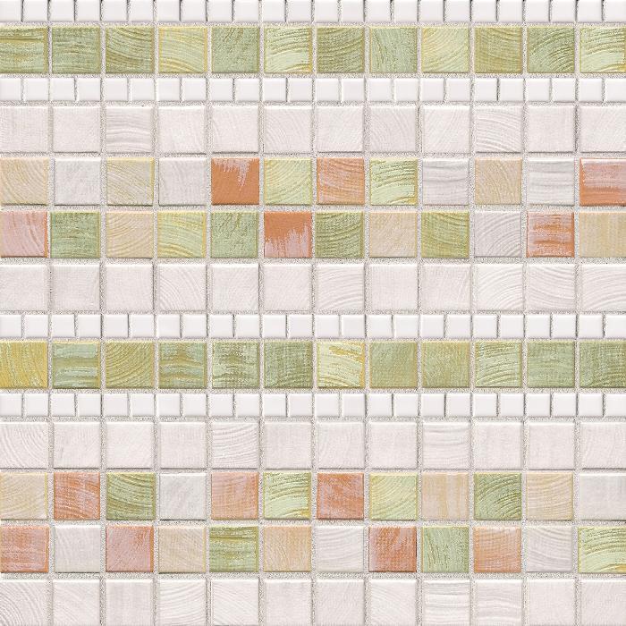 Jasba Senja Pistazie JA-3209H Mosaik Lines 30x30 matt