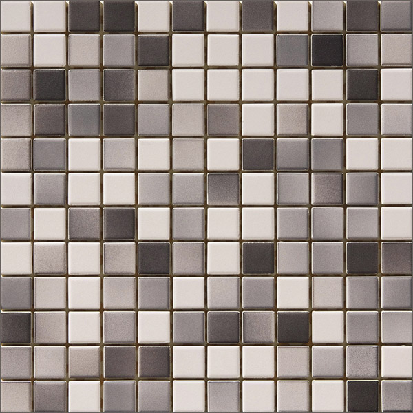 Engers Ohio grau-anthrazit  EN-OHI490 Mosaik 2,5x2,5 30X30 matt