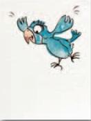 Steuler BONGOBONGO Papagei St-Y34077001 Dekor 25x33 matt