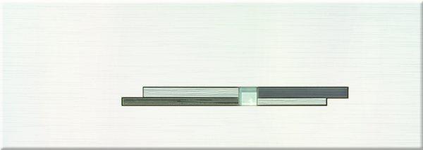Steuler LIVIN wieß/anthrazit St-Y27212001 Dekor 25x70 glänzend
