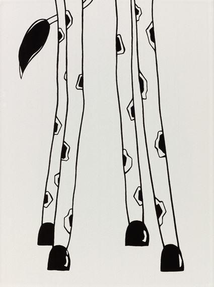 Steuler LOUIS & ELLA Giraffenbeine, weiß St-Y34046001 Dekor 25x33 matt