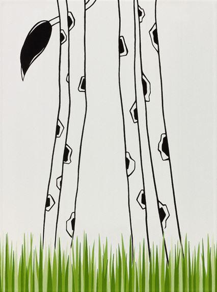 Steuler LOUIS & ELLA Giraffenbeine/Gras, weiß St-Y34047001 Dekor 25x33 matt