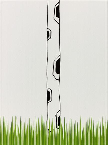 Steuler LOUIS & ELLA Giraffenhals/Gras, weiß St-Y34053001 Dekor 25x33 matt