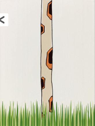 Steuler LOUIS & ELLA Giraffenhals/Gras, natur St-Y34058001 Dekor 25x33 matt