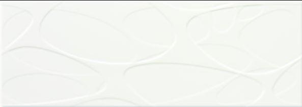Steuler ORGANIC SENSE weiß St-Y27151001 Wandfliese 25x70 glänzend, Relief