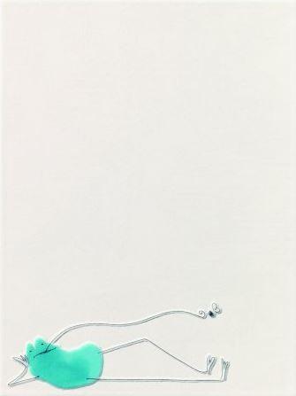 Steuler QUAAAK! blau, Frosch St-Y35962001 Dekor 25x33 matt/glänzend