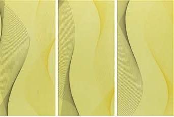 Steuler TWISTER limone St-Y59057001 Dekor 20x40 glänzend