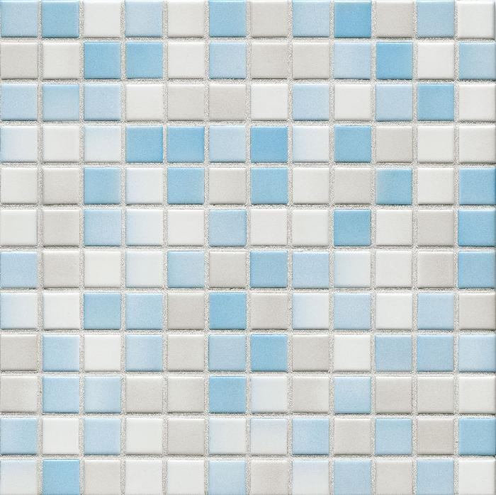 Jasba Lavita wolkenblau JA-3604H Mosaik 2,4x2,4 30x30 matt-glänzend