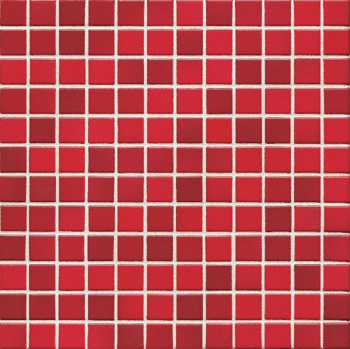Jasba Lavita kirschrot JA-3606H Mosaik 2,4x2,4 30x30 matt-glänzend