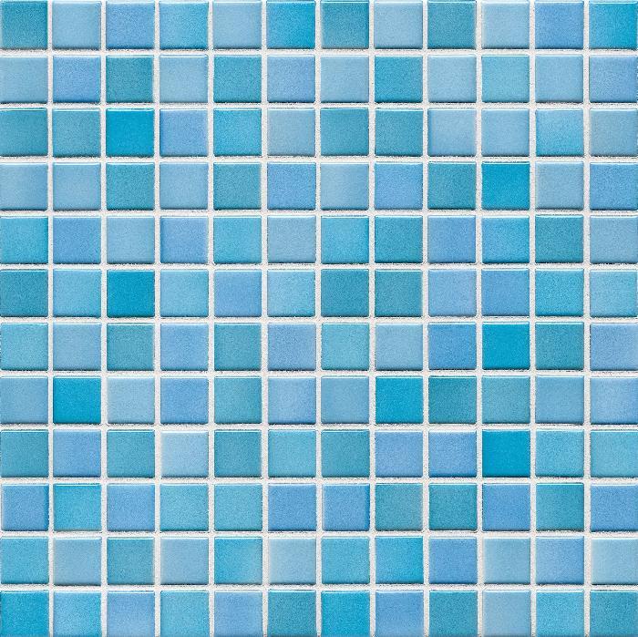 Jasba Lavita kristalltürkis JA-3609H Mosaik 2,4x2,4 30x30 matt-glänzend