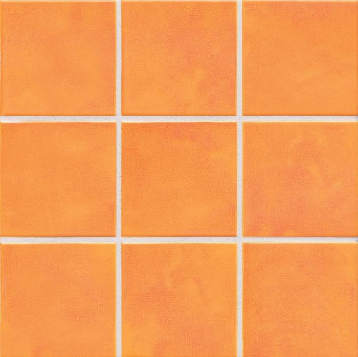 Jasba Lavita sonnenorange JA-3615H Mosaik 10,2x10,2 30x30 matt