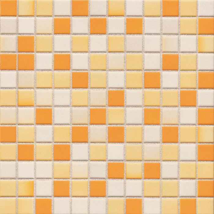 Jasba Lavita sonnenorange JA-3625H Mosaik 2,4x2,4 30x30 Secura R10/B