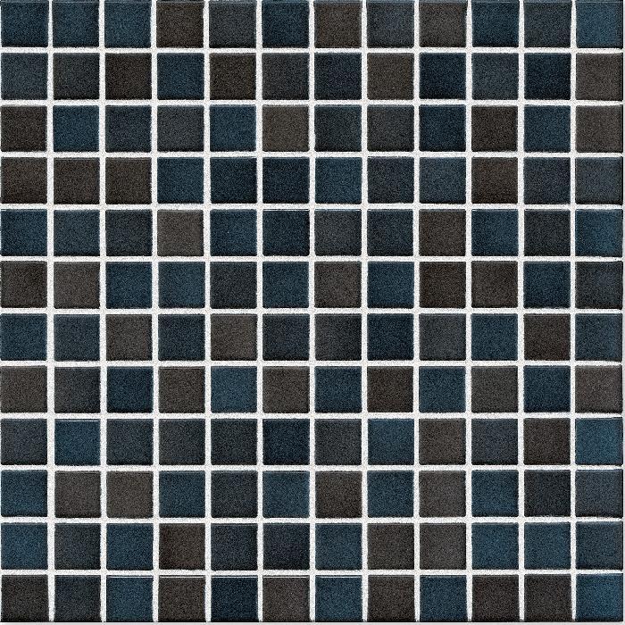 Jasba Lavita graphitschwarz JA-3627H Mosaik 2,4x2,4 30x30 Secura R10/B