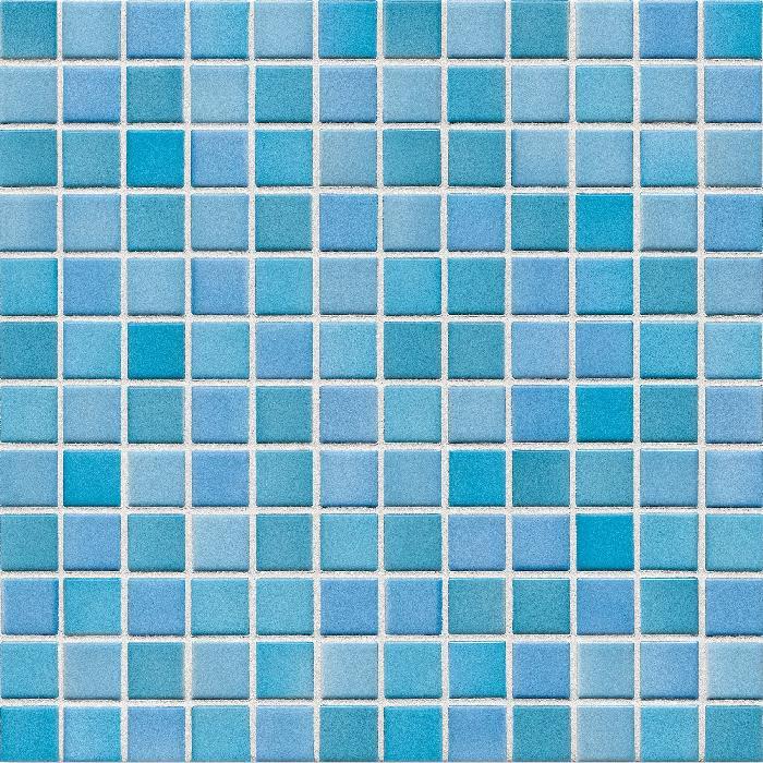 Jasba Lavita kristalltürkis JA-3629H Mosaik 2,4x2,4 30x30 Secura R10/B