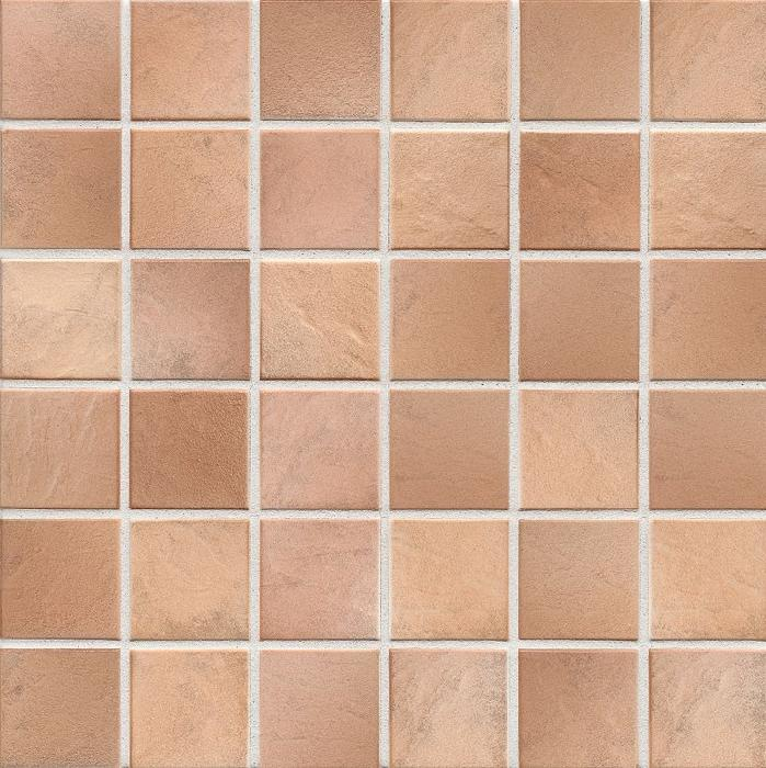 Jasba Village cotto JA-3508H Mosaik  5x5 30x30 Secura R10/B