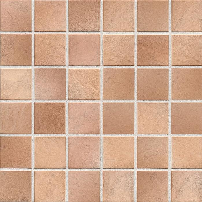 Jasba Village cotto JA-3548H Mosaik  5x5 30x30 matt