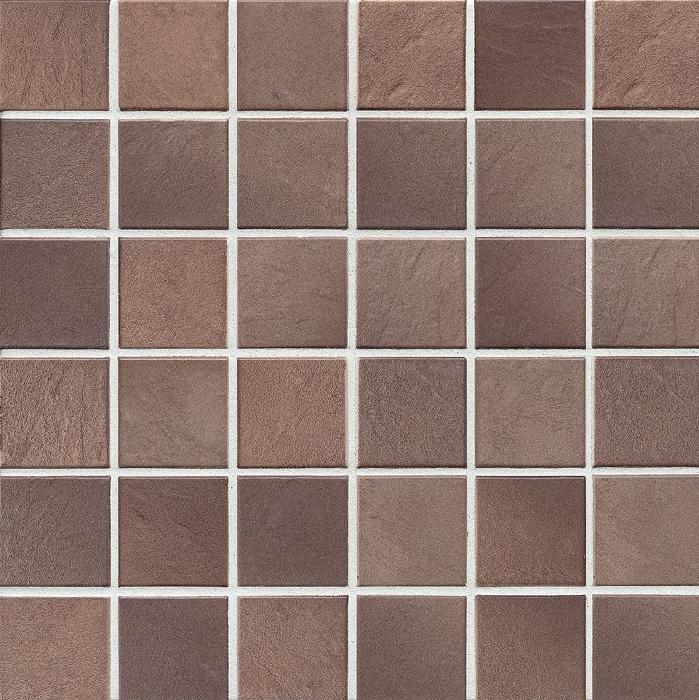 Jasba Village erdbraun JA-3546H Mosaik  5x5 30x30 matt