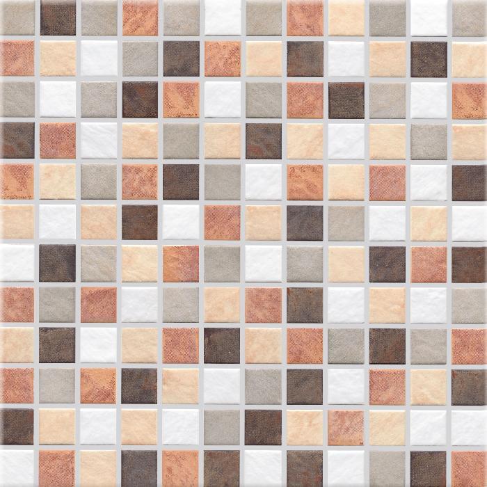 Jasba Terrano Farbmix JA-5905H Mosaik 2,4x2,4 30x30 matt