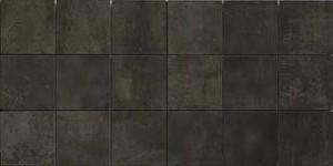 Imola ANTARES Schwarz IM-41077 Mosaik 25X50 glänzend